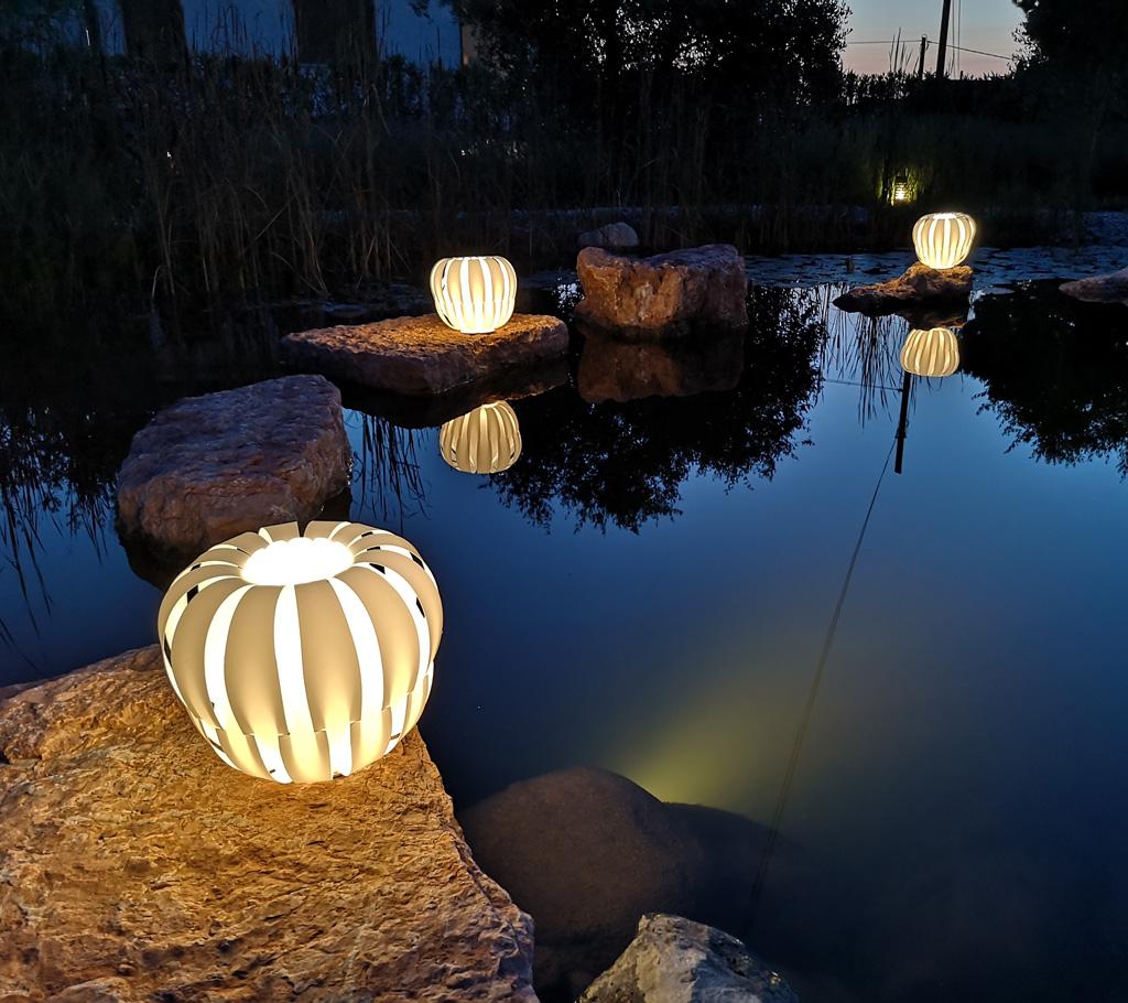 QUEEN - lampada laghetto - grado di protezione ip