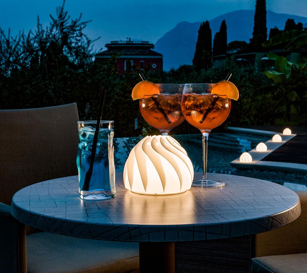 ROSE - lampade da esterno per ristorante