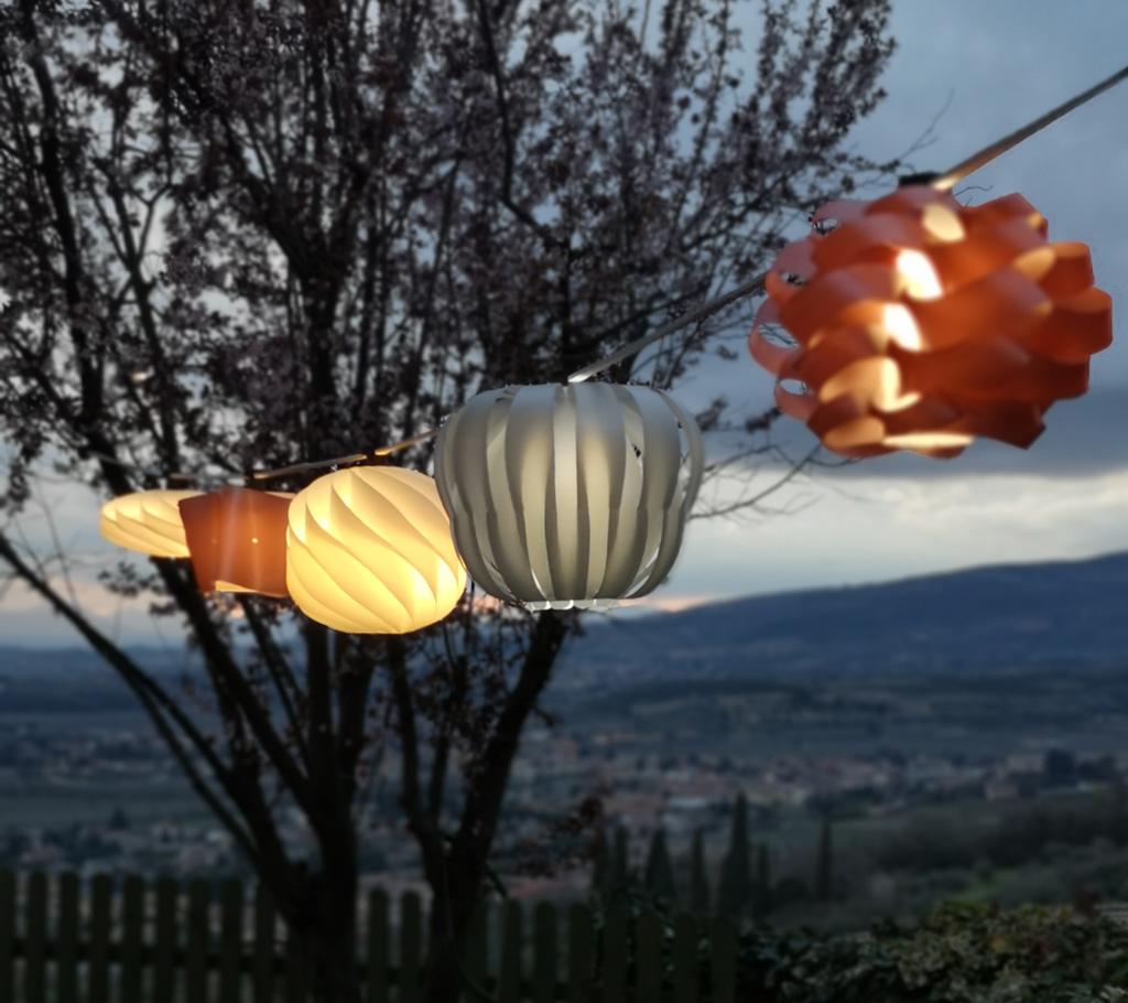 CATENARIA - lampade da esterno